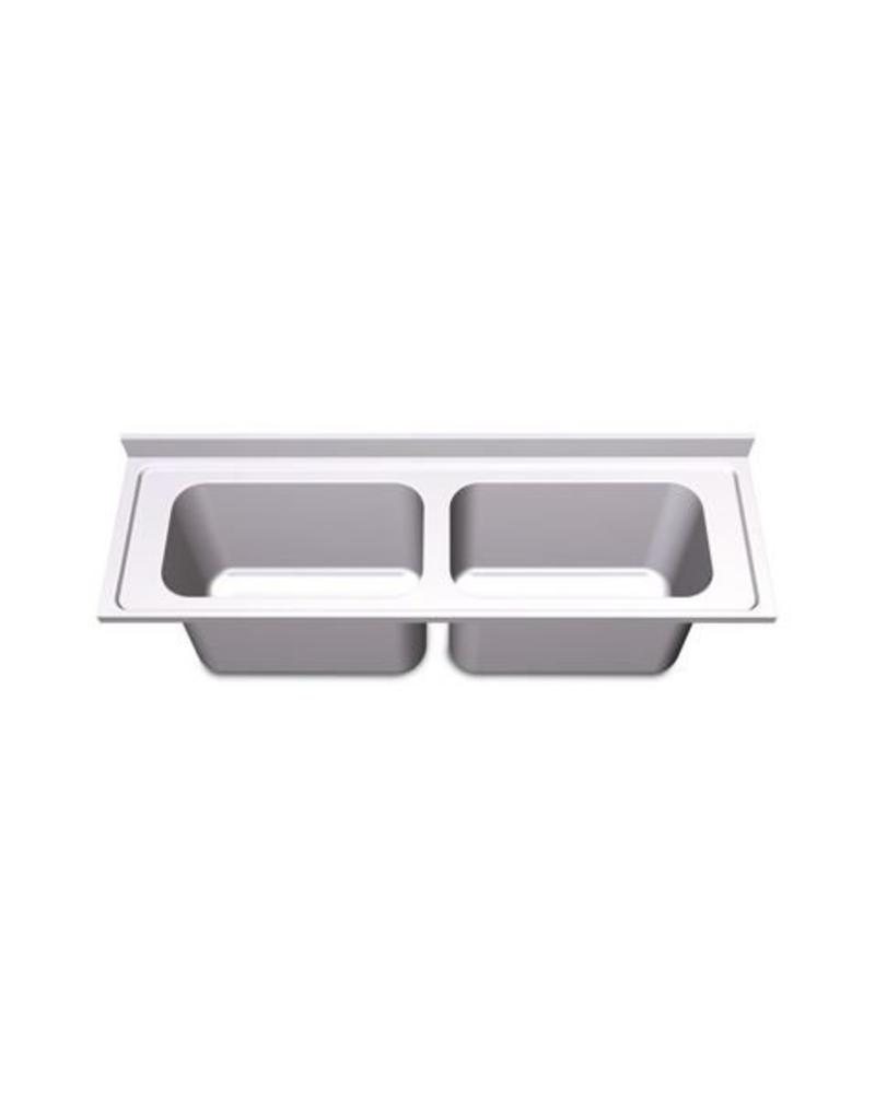 Sink Units Rectangular High Capacity with two sinks