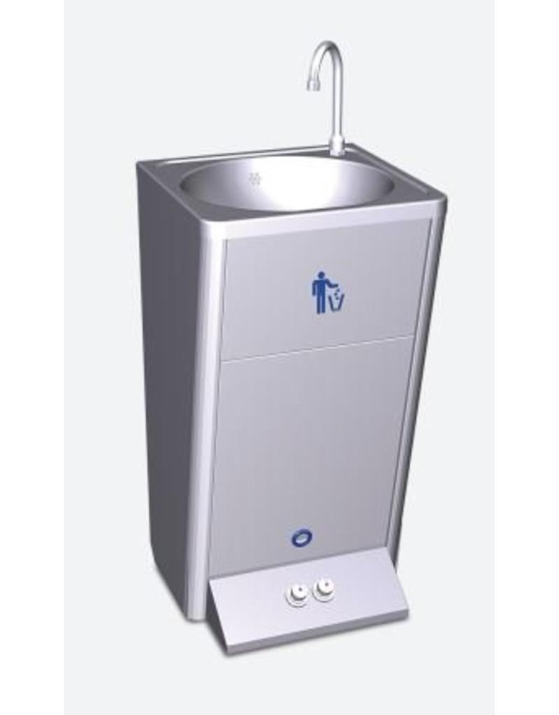 Fricosmos Mobile hand washbasin with two control buttons for hot and cold