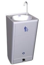 Fricosmos Mobiele wasbak met hoog debiet en ingebouwde watertank