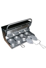 Hamburger press with oval moulds