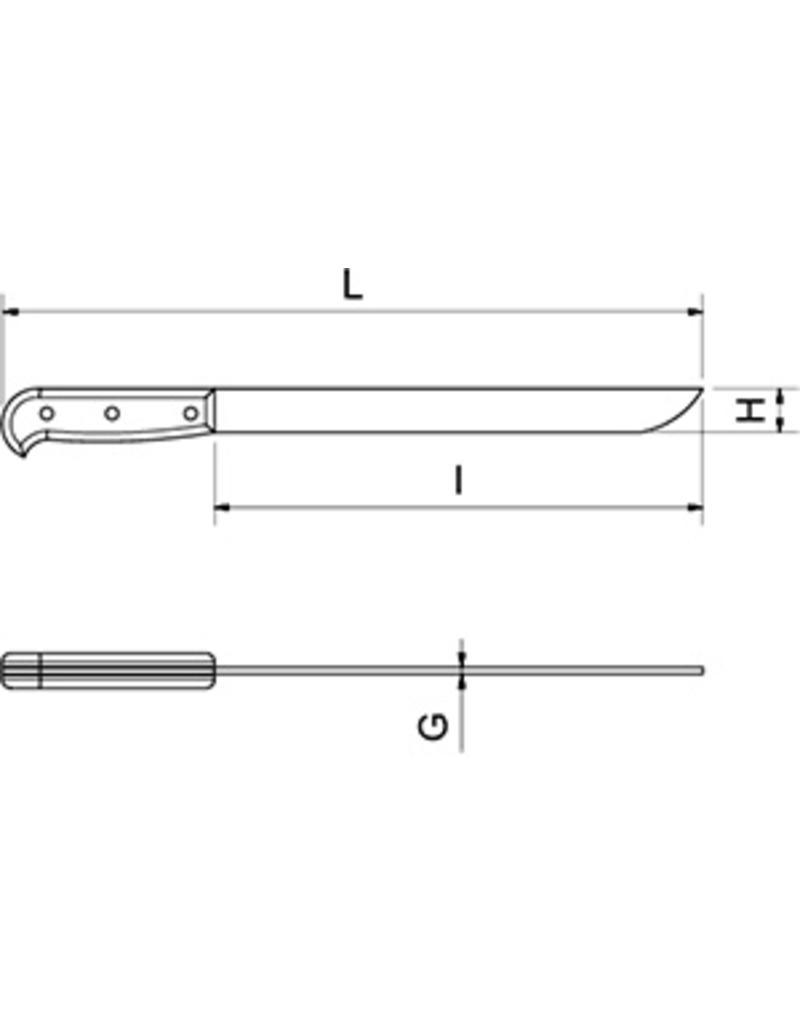 Parmaham knife