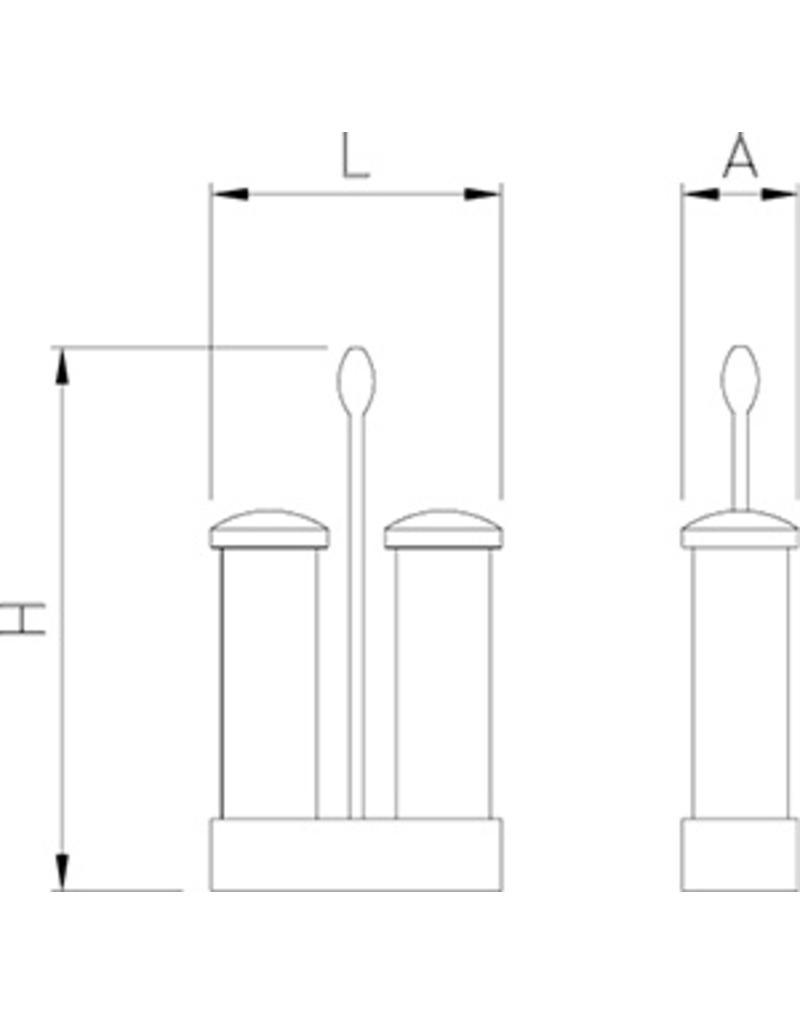 Zout en peper set