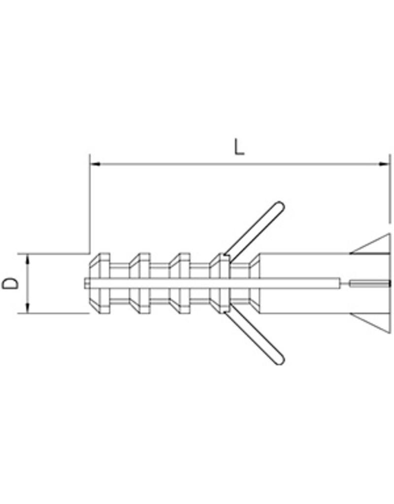 Nylon Plastic Plug