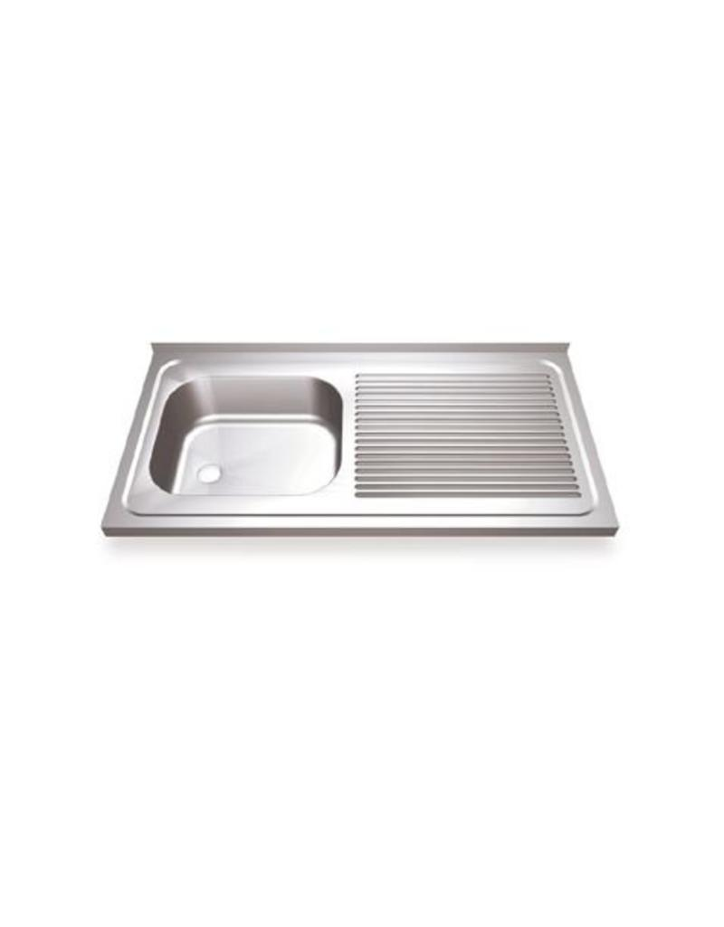 Sink with drainer right