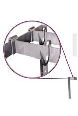 kit for hanging bracket at top