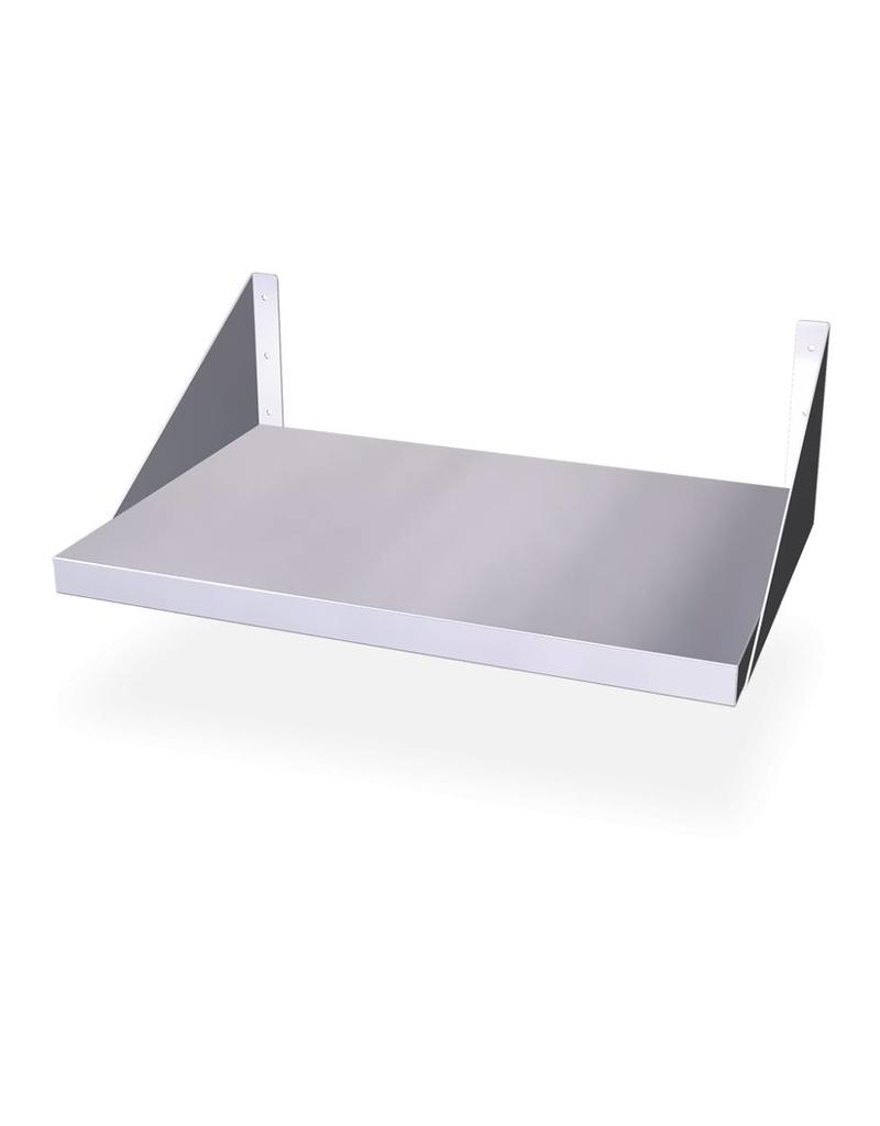 legbord voor microgolf met muurbevestiging