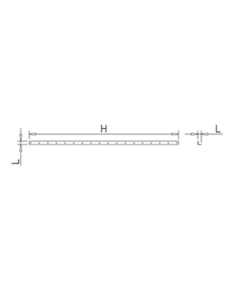 Fricosmos Stainless steel vertical support for modular shelving