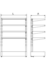 Standard single rack