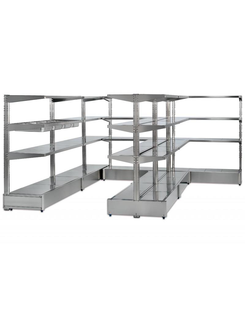 Extension kit for single rack