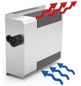 Fricosmos Luchtverwarmer voor kast, met thermostaat