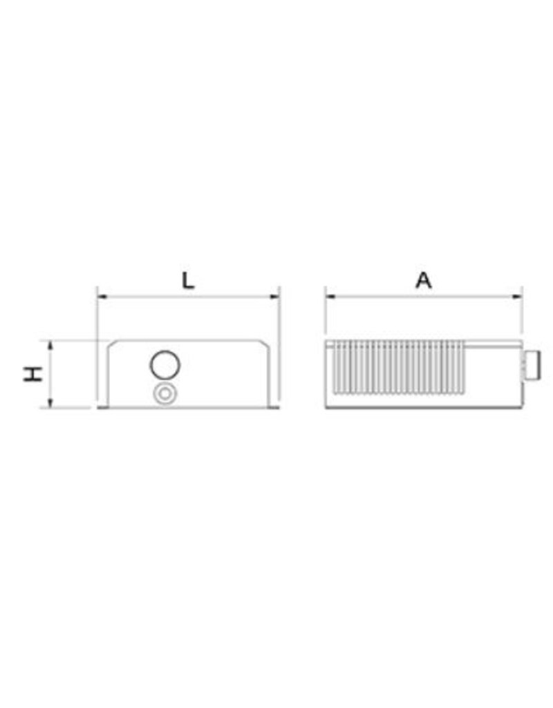 Fricosmos Air heater for cupboard, with thermostat