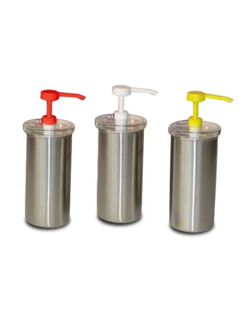Fricosmos Sauce dispenser in stainless steel