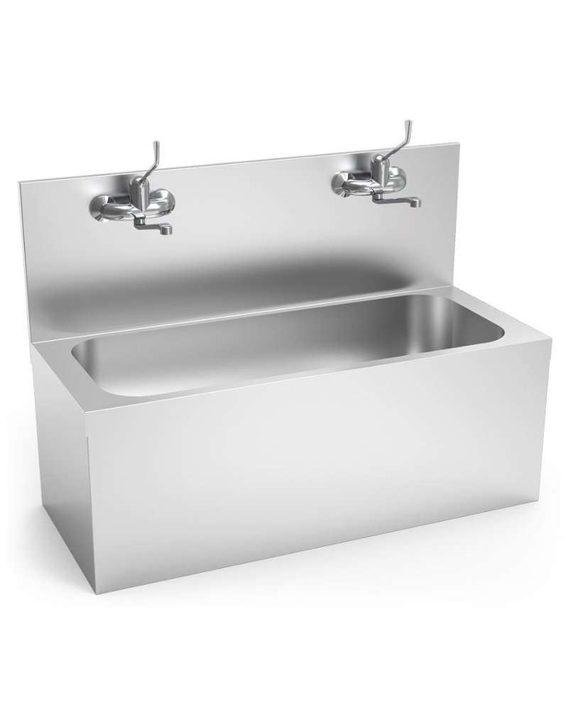 Fricosmos Hand washbasin for operating room with taps