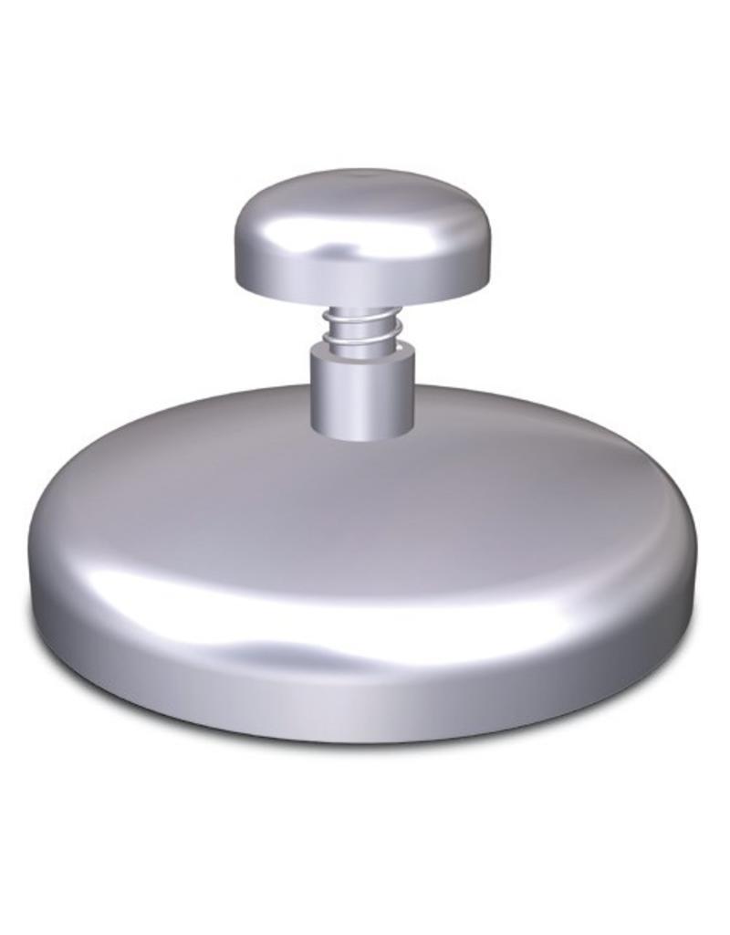 Round hamburger press