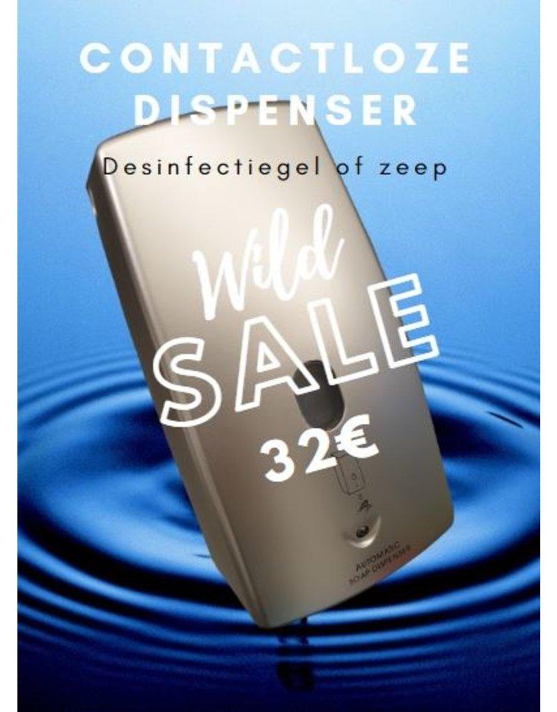 Elektrische zeep dispenser + gel + op voorraad!!!