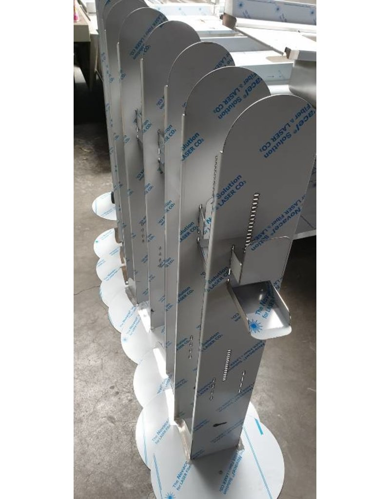 Disinfection column - contactless