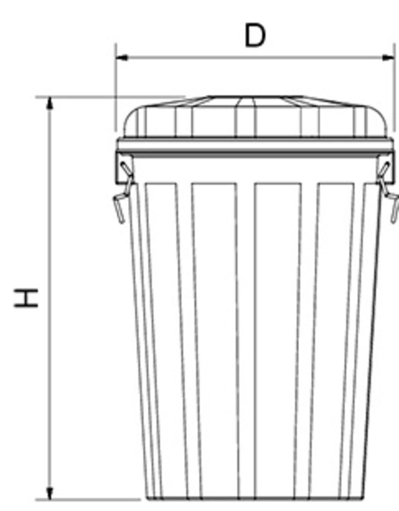 Container voor messentransport