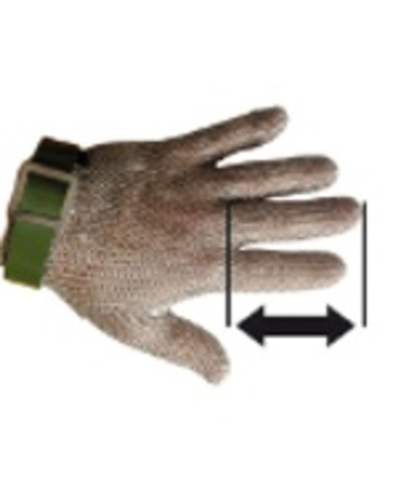 Maashandschoenen in roestvrij staal expert model