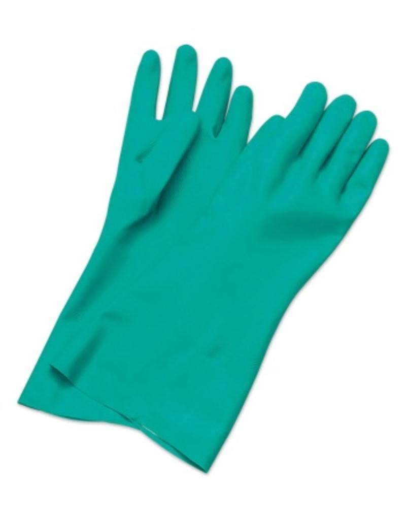 Nitril handschoenen voor gebruik in voeding