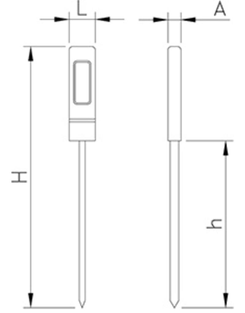 Basis digitale thermometer
