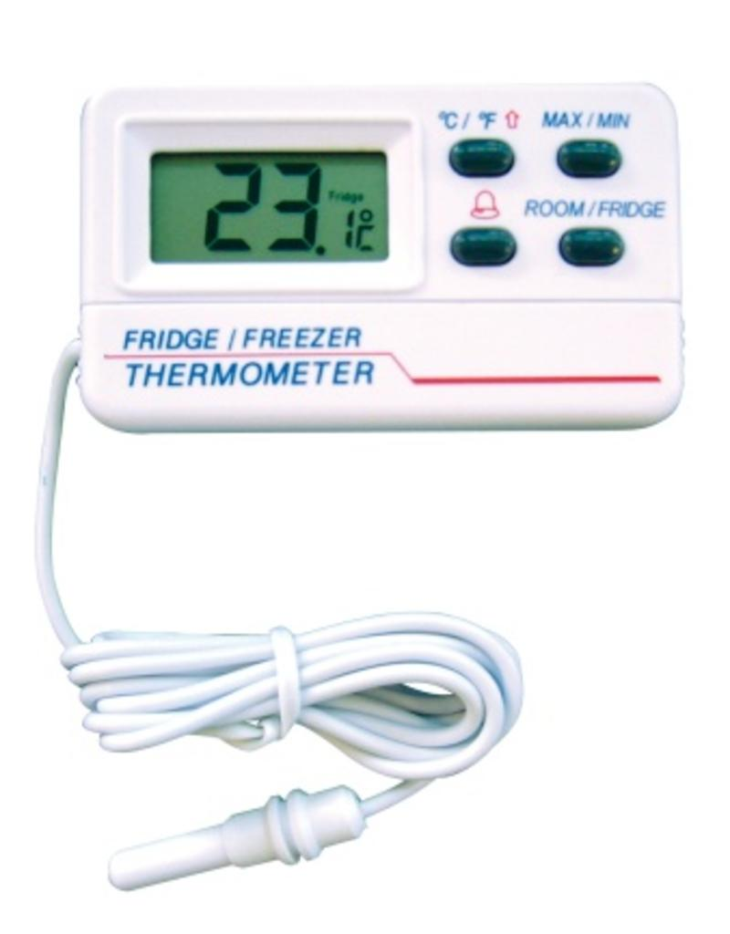 Digital Fridge and freezer thermometer with probe