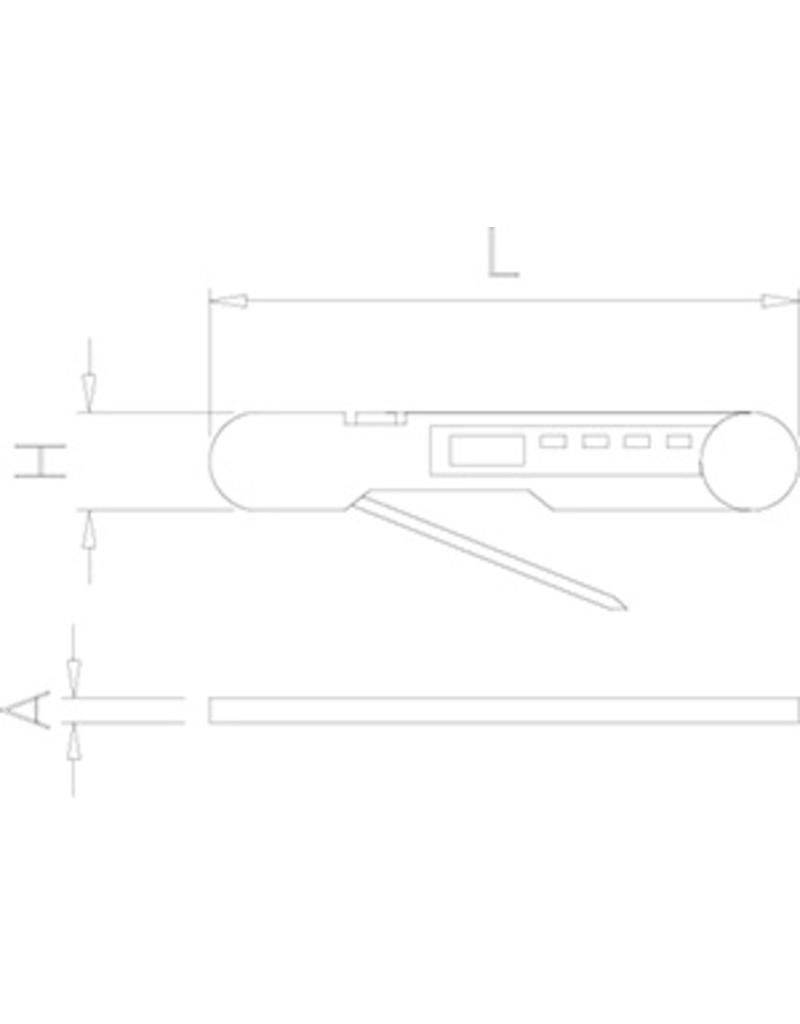 Compacte thermometer