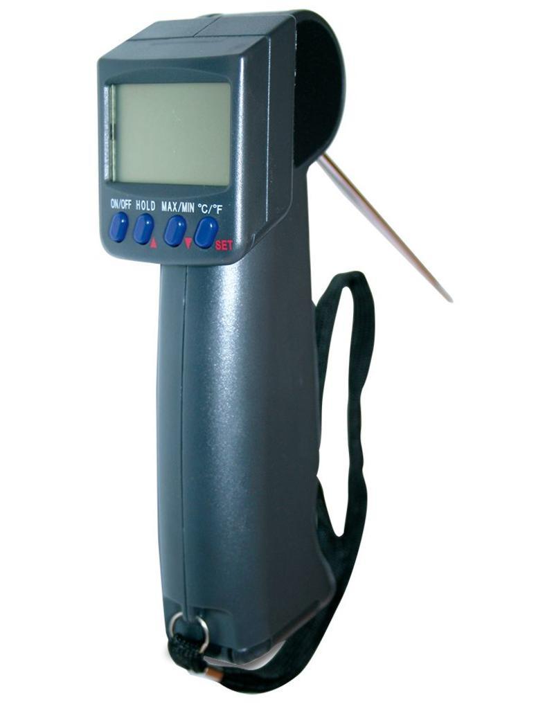 Pistool thermometer met sonde