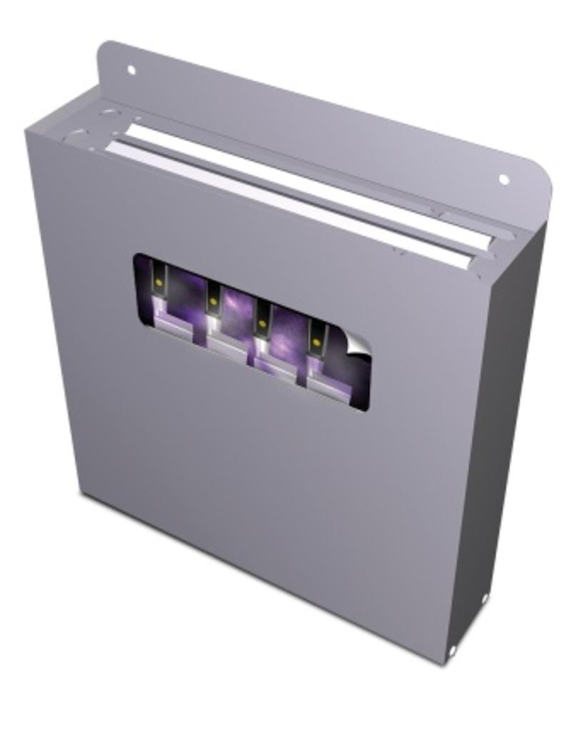 Knife sterilizer with ozone