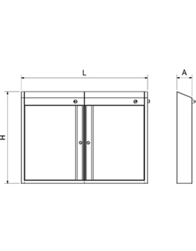 Sterilizing cabinet with UV for knives
