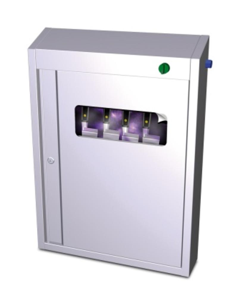 Sterlizing cabinet with ozone for knives
