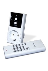 Option: remote control and timer for electrical devices