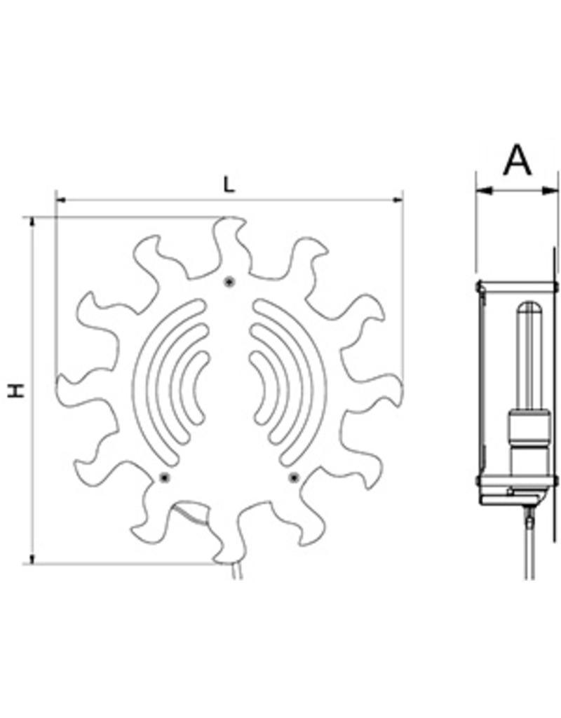 Insectenlamp BC model - Zon