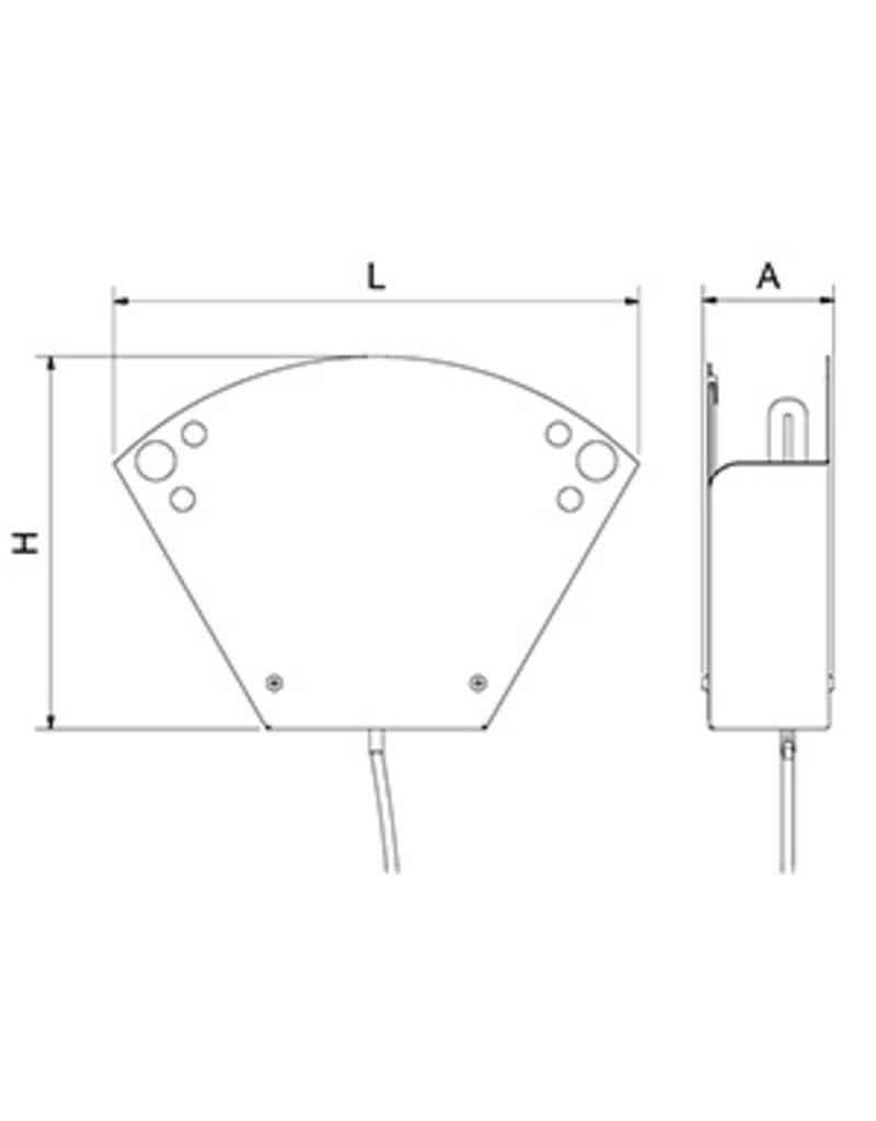 Insectenlamp BC model - Kaas