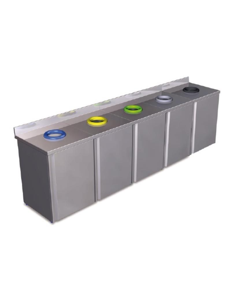 Garbage recyclatiebak