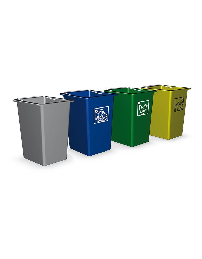 Garbage recyclatiecontainer