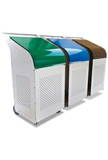 Recyclage container in RVS