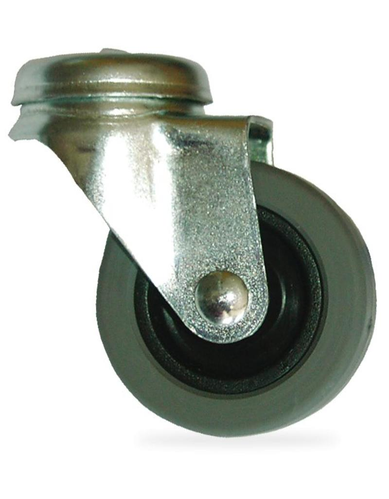 Spare part: wheel for bin stainless steel