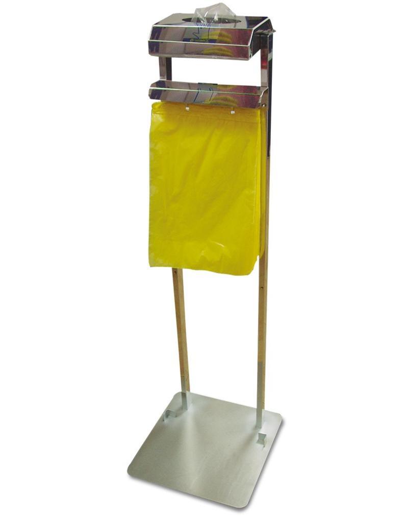 Hanschoenen- and hang bag dispenser