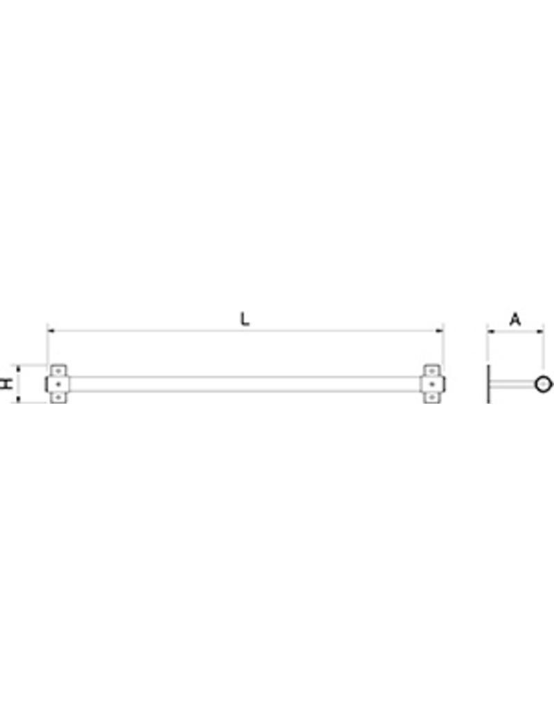 Paper or foil roll holder ECO series