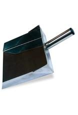 Dustpan in stainless steel