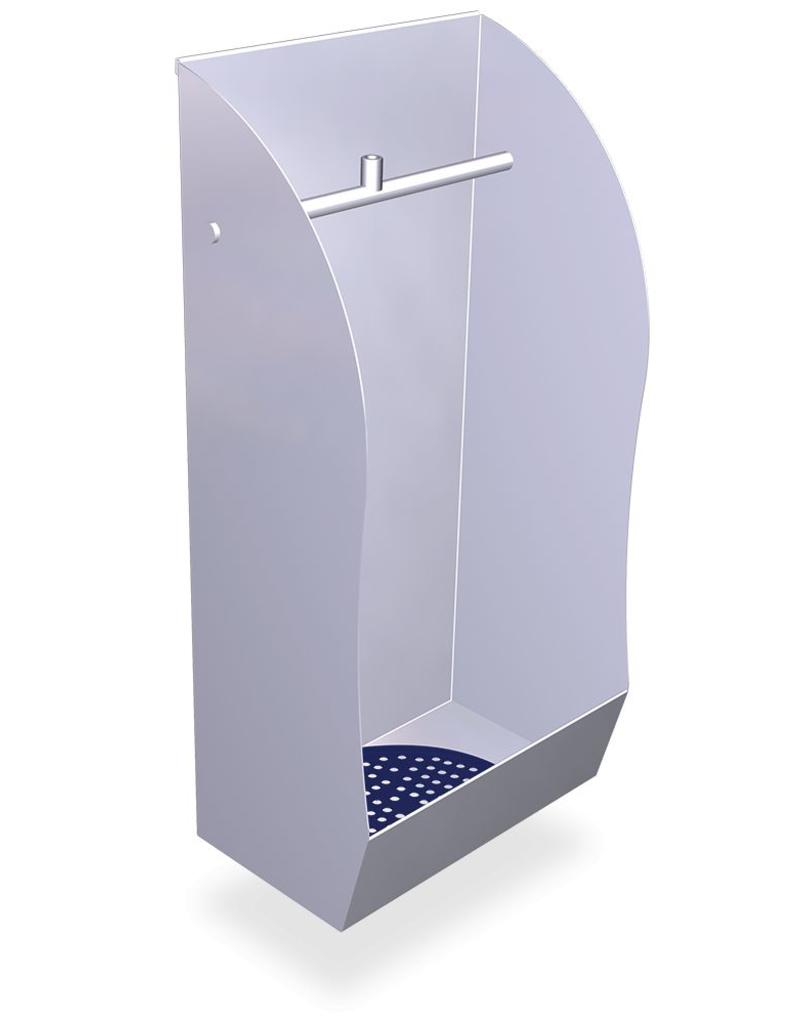Urinal in stainless steel