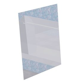 Mirror in stainless steel