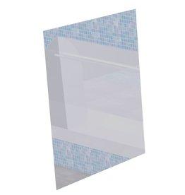 Spiegel in roestvrij staal