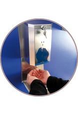 Elektronisch bediende RVS dispenser van hydroalcoholische gel