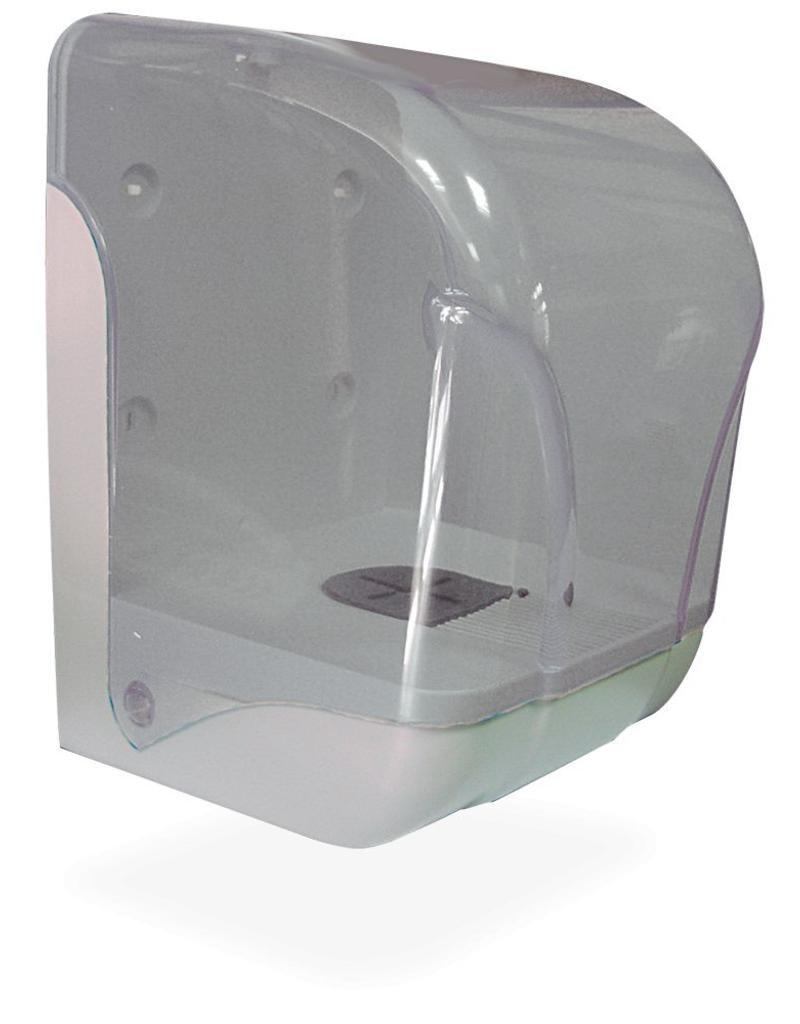Tearing paper dispenser