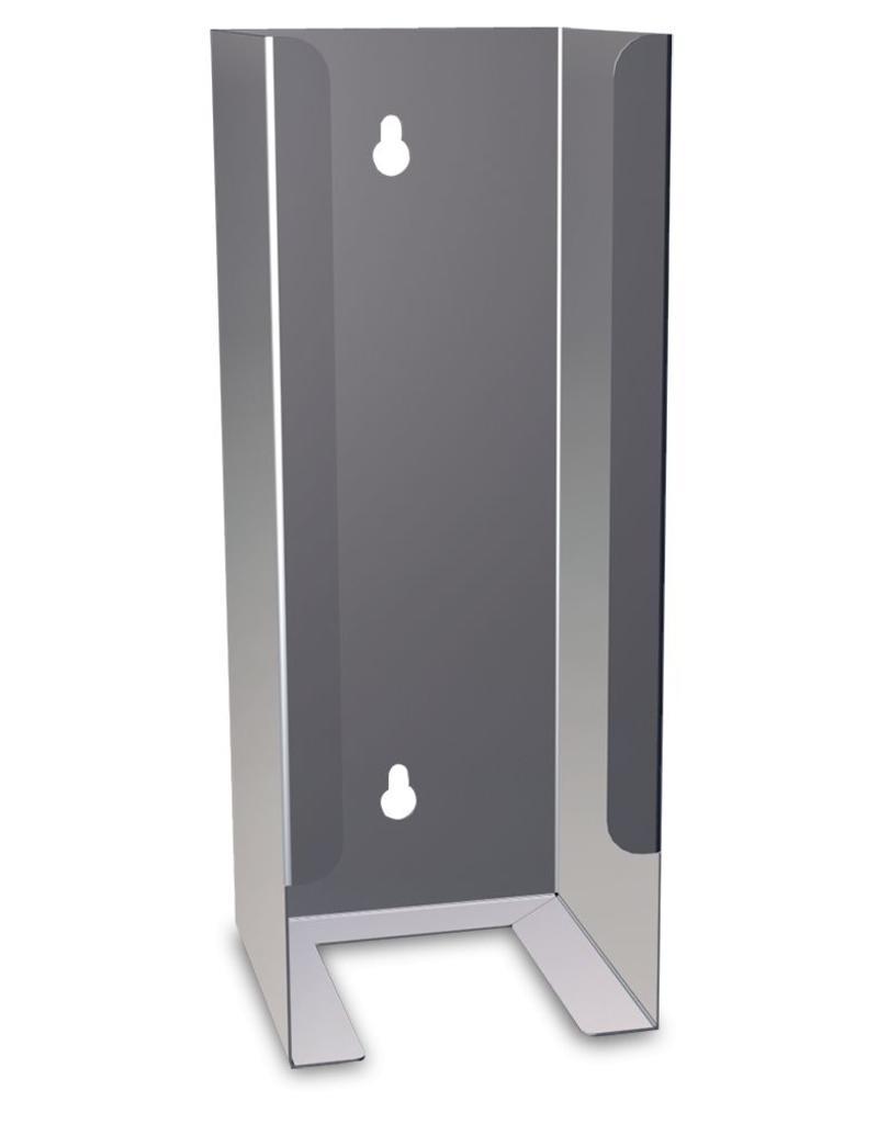 Nail brush dispenser in stainless steel