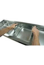 Standaard handvaten voor gastronorm bak