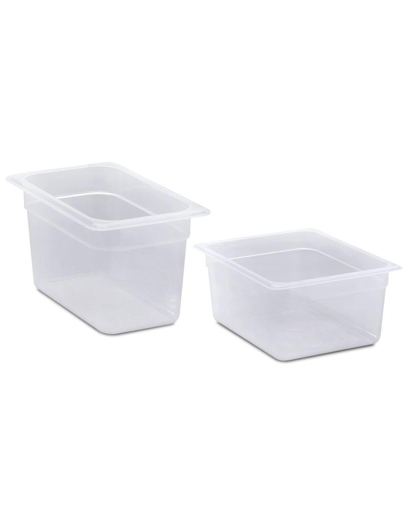 Gastronorm container made of polypropylene - Model 1/4