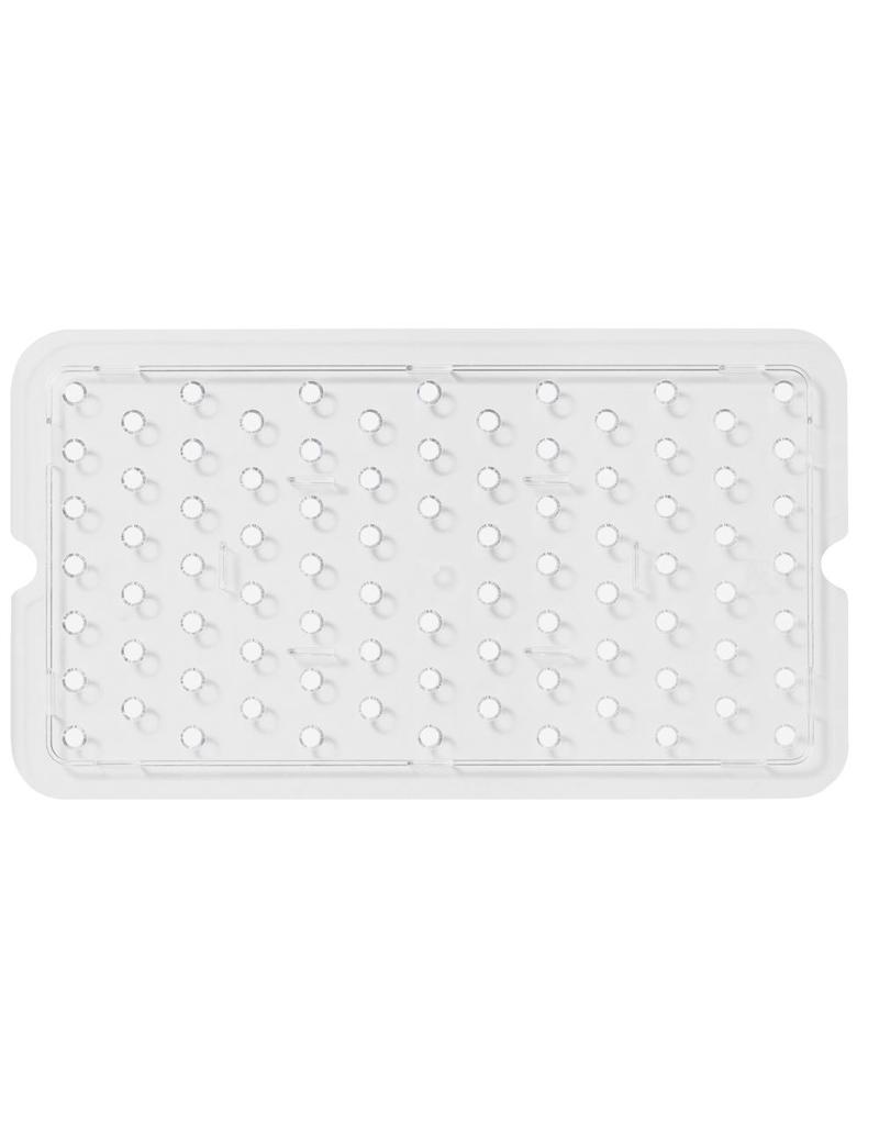 Perforated bottom for Gastronorm container in polypropylene