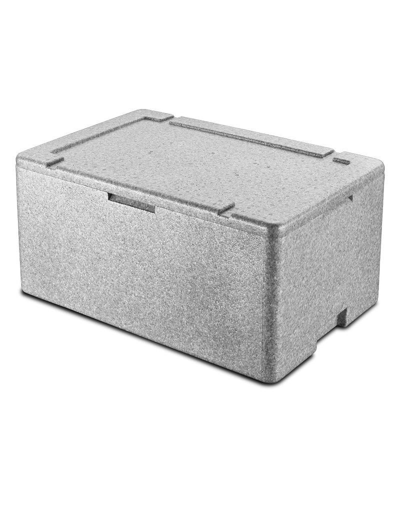 Gastronorm container met thermische isolatie